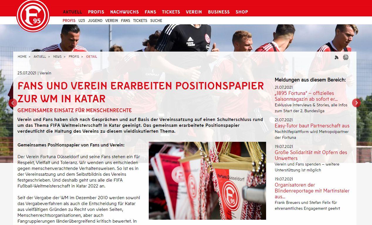 Das ominöse Papier im Original auf der F95-Website (Screenshot f95.de)