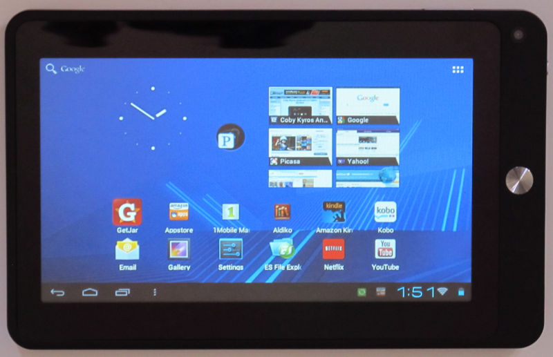 Coby Kyros Android 40 Tablet Review