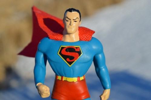 Körpertypen - der Superheld