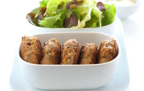 Gemüse-Proteintaler - vegane Bratlinge