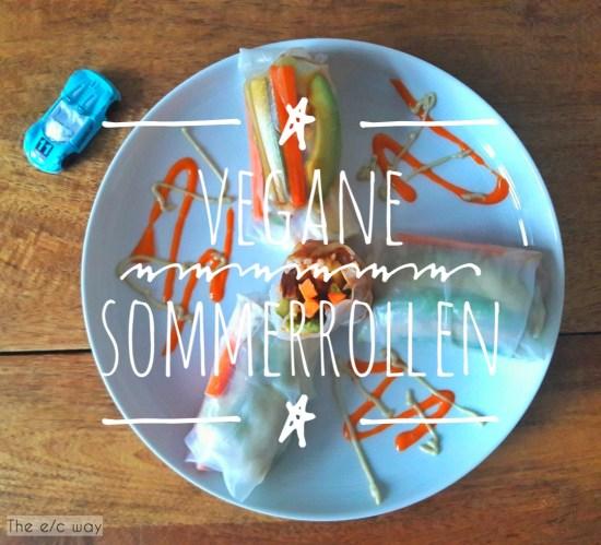 Vegane Sommerrollen, glutenfrei und vegan