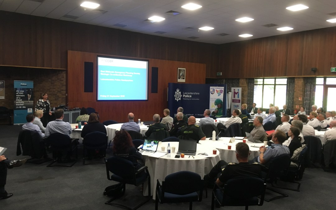 East Midlands Branch Strategic Workshop – 21 September 2018