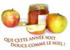 french apples and honey