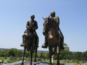Statue of Joseph and Hyrum Smith, Nauvoo Illinois