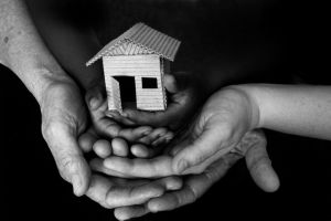 hands-holding-house-image