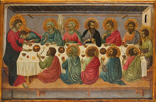 The Last Supper -- Ugolino da Siena