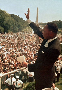 MLK Marches on Washington DC