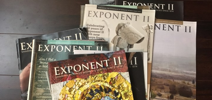 the collection of Exponent II magazines the author owns