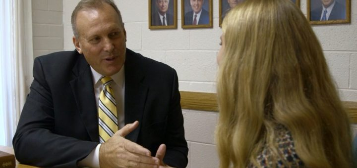 LDS Bishop interviewing girl