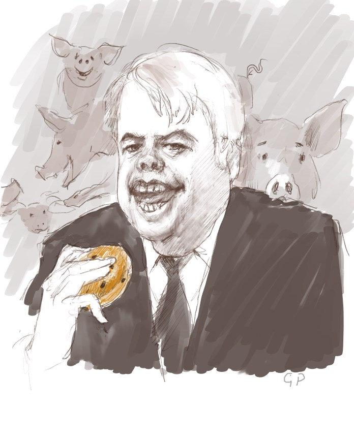Carwyn Jones cartoon
