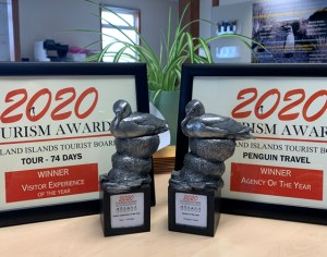 Penguin Travel wins two awards at FITB's 2020 Tourism Awards