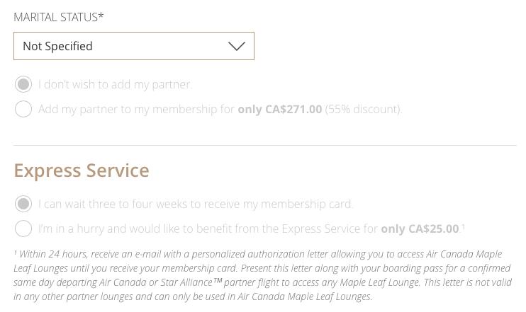 Air Canada Maple Leaf Club 貴賓室通行證優惠