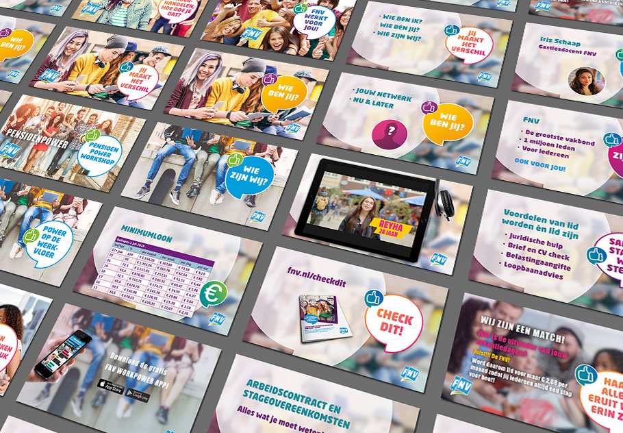 FNV Powerpoint presentatie ontwerpen