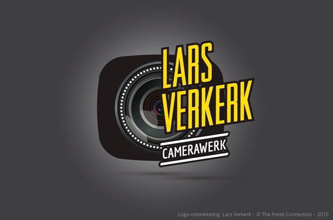 Lars Verkerk Camerawerk Logo ontwikkeling