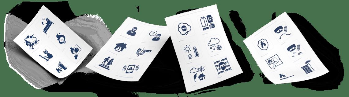 pictogrammen hulpbehoevenden
