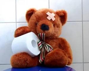 Teddy bear and toilet paper © Gunnar3000 | Dreamstime.com