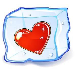 Heart in ice © Tamara Radavanavich   Dreamstime.com