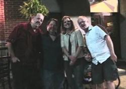 Stu, Lisa, Lori and Paul © Paul H. Byerly