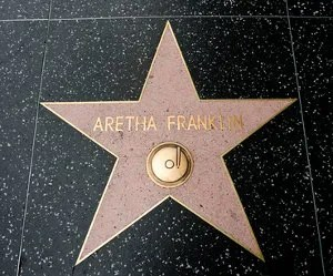 Aretha Franklin's Star © Biansho | Dreamstime.com
