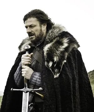 """Eddard """"Ned"""" Stark from the HBO series Game of Thrones © HBO"""