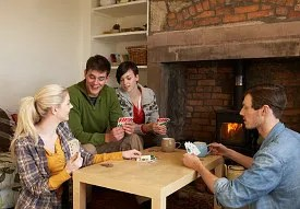 Two couples playing games © Monkey Business Images Ltd   Dreamstime.com