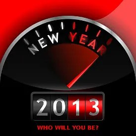 Who will you be in 2013? © Laurent Renault | Dreamstime.com