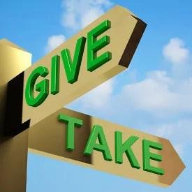 Give or Take? © Stuart Miles | freedigitalphotos.net