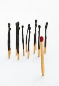 Match sticks © Otnaydur | Dreamstime.com