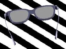 Glasses that make everything grey. © Osipovfoto   Dreamstime.com