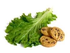 Lettuce or cookies © Iliyan Kirkov   Dreamstime.com