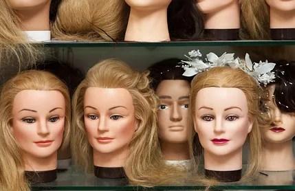 mannequin heads © Pumba1 | Dreamstime.com