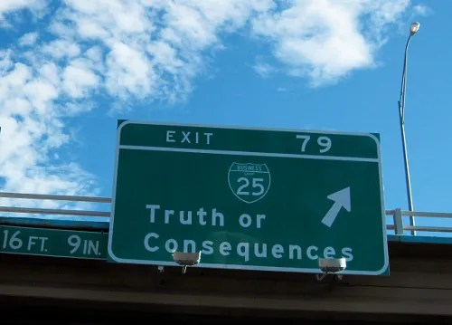Truth or Consequences © C. G. P. Grey | flickr.com