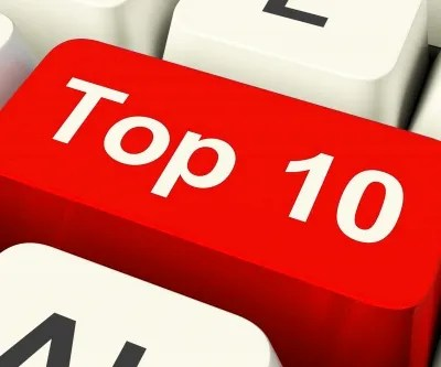 Top Ten © Stuart Miles | freedigitalphotos.net