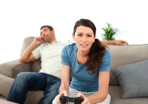 Gaming over marriage © Wavebreakmedia Ltd   Dreamstime.com
