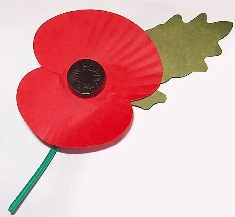 Paper Poppy  Philip Stevens Public Domain | commons.wikimedia.org