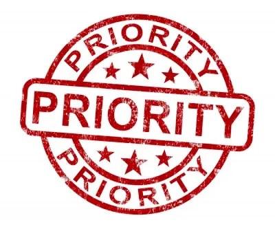Priority © Stuart Miles | freedigitalphotos.net