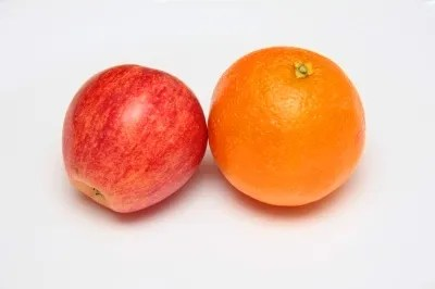 Apple and Orange © Suvro Datta | freedigitalphotos.net