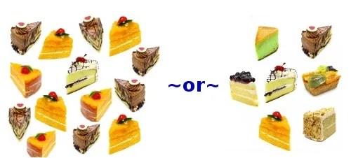 Slices of Cake © Anusorn P nachol  freedigitalphotos.net