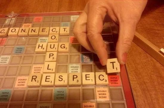 Scrabble - RESPECT © Paul H. Byerly
