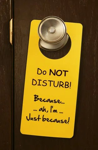 Do Not Disturb © Ieva Geneviciene | Dreamstime.com