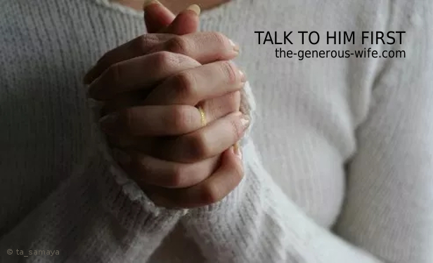Archive Week – Talk to Him First – The Generous Wife