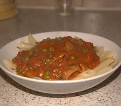 Low GI Pasta with Italian Sauce