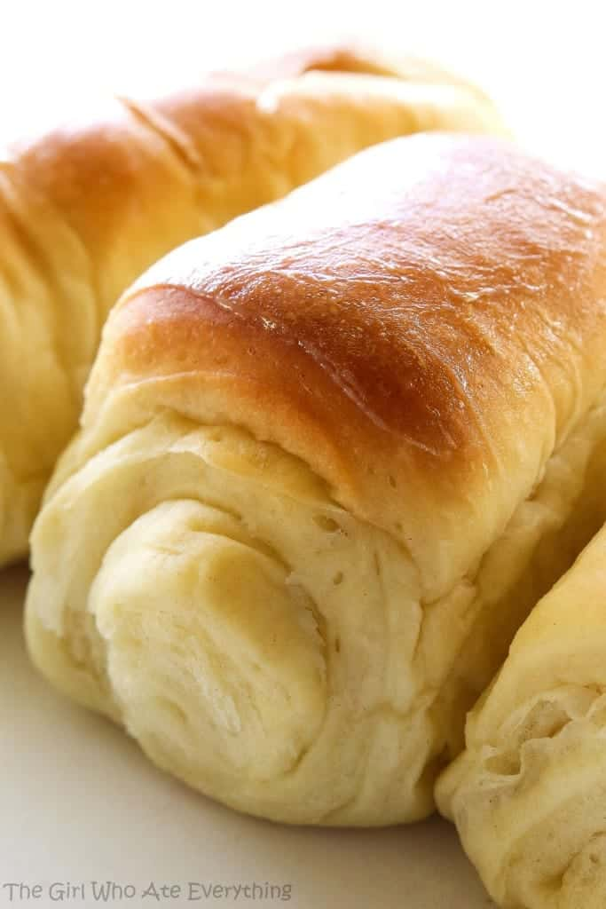"""Lion House Rolls Recipe   The Girl Who Ate Everything """"Lion House Rolls - my favorite rolls hands down! Soft, fluffy and unbelievable!"""""""