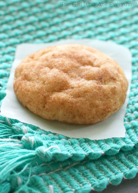 The Best Snickerdoodle Cookie Recipe - The Girl Who Ate