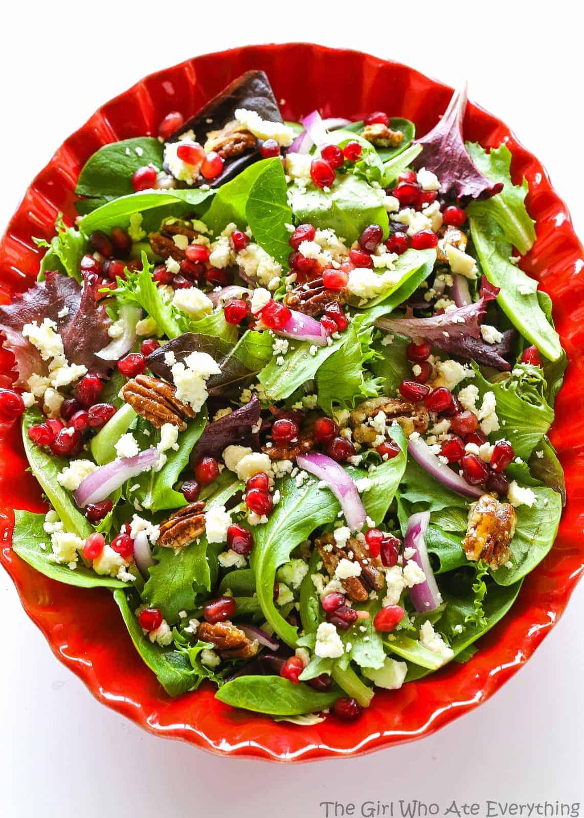Pomegranate Feta Salad