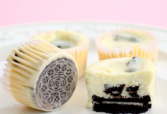 Cookies And Cream Cheesecakes The Girl Who Ate Everything