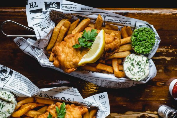 fish 'n' chips The Globe