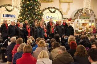 Dresdner Gospel Chor gibt Konzert im Neustädter Bahnhof Dresden