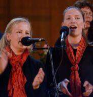 Sängerinnen des Dresdner Gospel Chores The Gospel Passengers