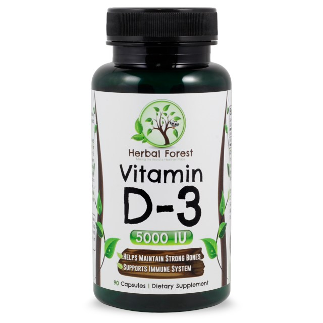 image of Herbal Forest vitamin d-3 5000iu